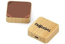 Square Bamboo charger