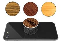 Branded PopSocket with Wood Logo