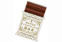 3 Baton Christmas Chocolate Bar 15g