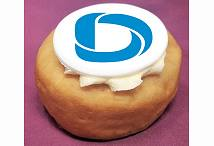 Corporate Logo Doughnuts