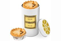 Four Mince Pies in a Logo Branded Snack Tin