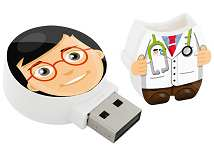 Mini Human USB Stick