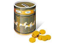 Carousel Tin of Chocolate Coins