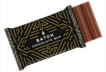 6 Baton Chocolate Bar with Logo Branded Wrapper