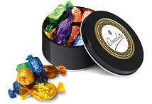 Black Treat Tin of Quality Street Sweets