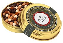 Chocolate Pearls Gold Caviar Tin