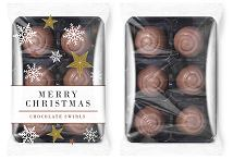 Christmas Chocolate Swirls