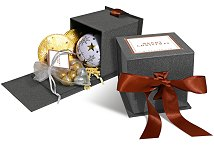 Mini Christmas Chocolate Gift Box