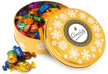 Quality Street Christmas Gold Tin