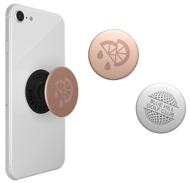 PopSocket Aluminium with Laser Engraved Logo