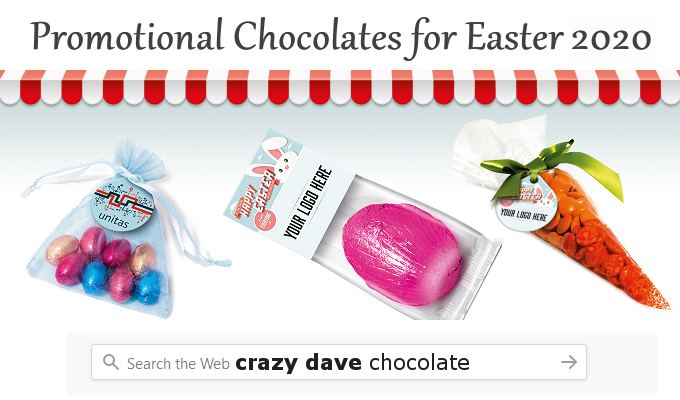 Promotional Chocolate Easter 2020